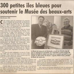 Musée Sherbrooke; Canada 1997.