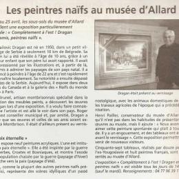 Musée d`Allard, Montbrison, France 2009/10.