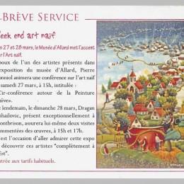 Musée d`Allard, Montbrison, France2009/10
